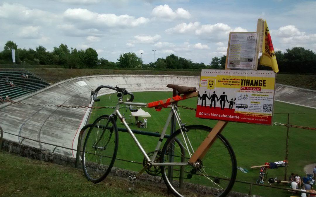 Kettenreaktion Tihange beim Radfest NRW