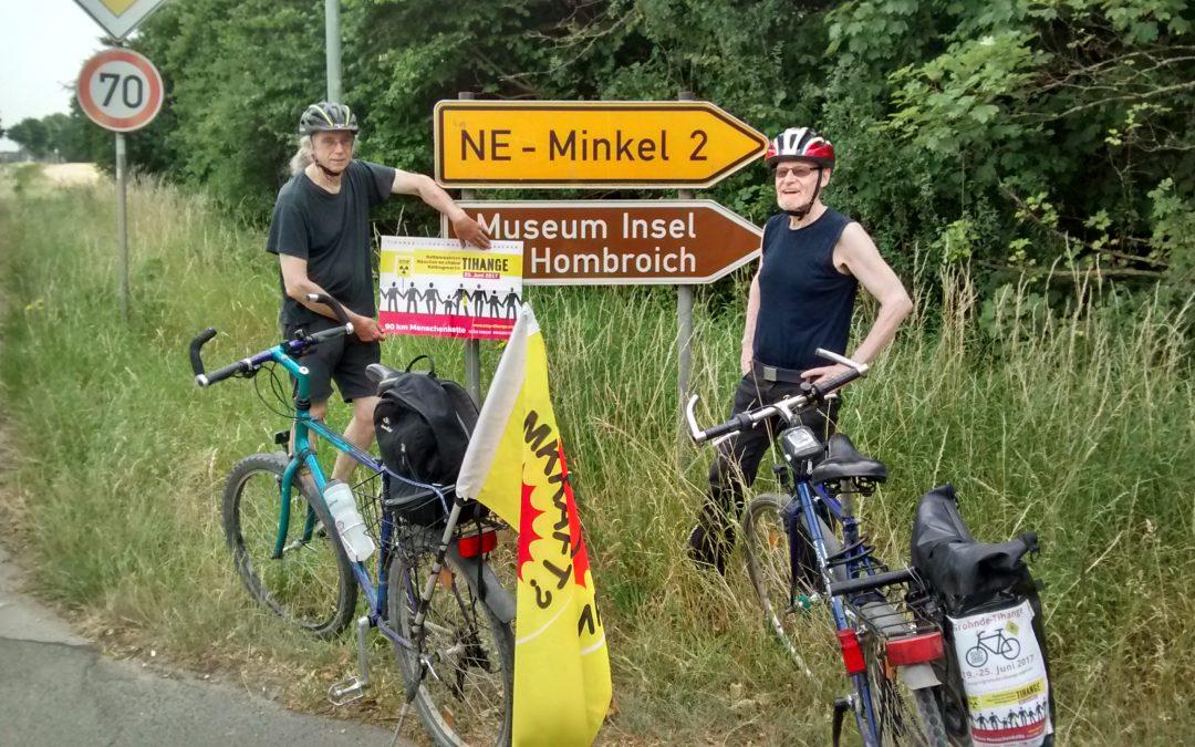 5. Etappe in Aachen eingetroffen: Braunkohle, ein hochsensibeles Forschungszentrum und Mr. Burns gesucht